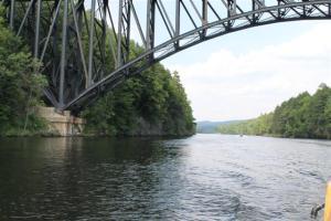 Riverboat bridge