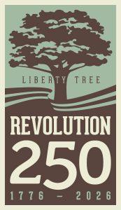 Revolution250 logo